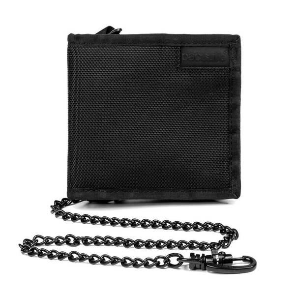 Pacsafe RFIDsafe Z100 Bi-Fold Wallet (Black)