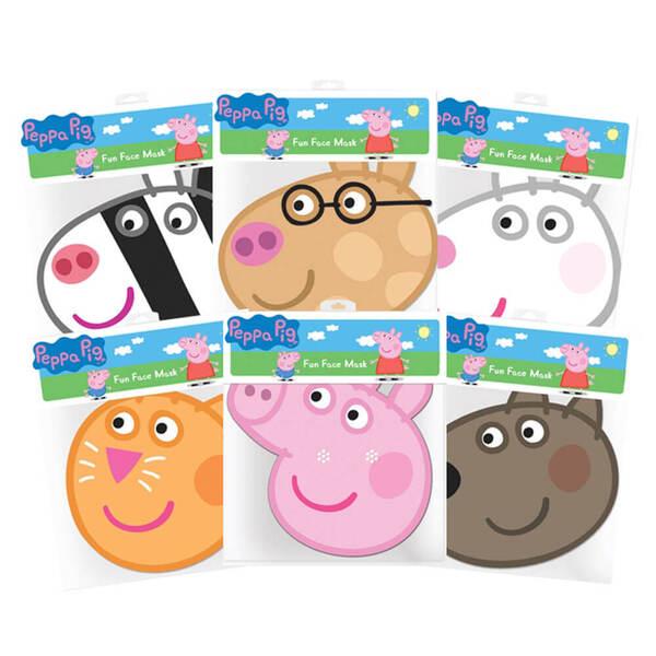 Peppa Pig & Friends Masks 6 Pk