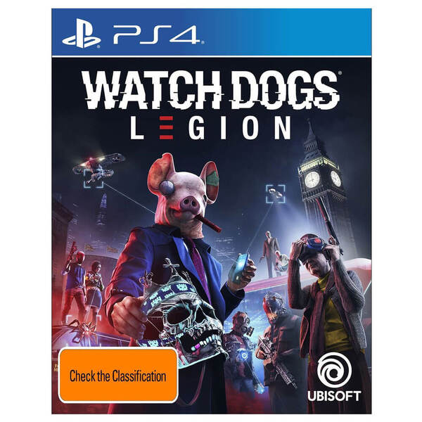 PS4 Watch Dogs Legion Game