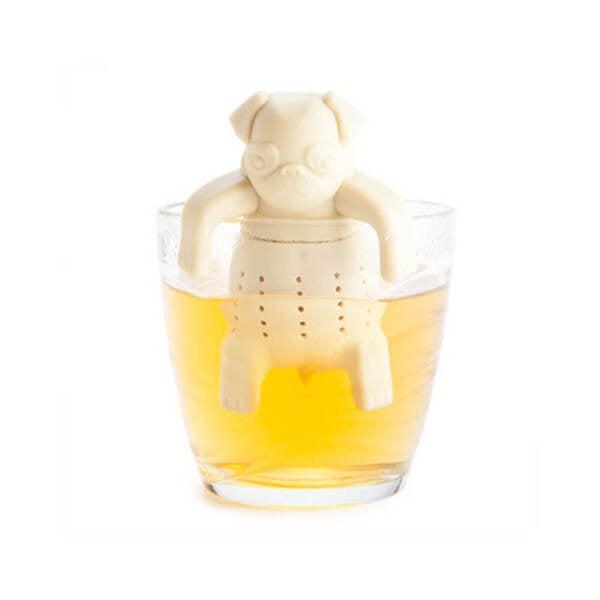 Pug In A Mug Silicone Tea Infuser