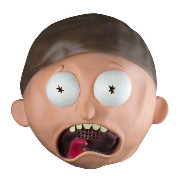 Rick and Morty Morty Latex Mask