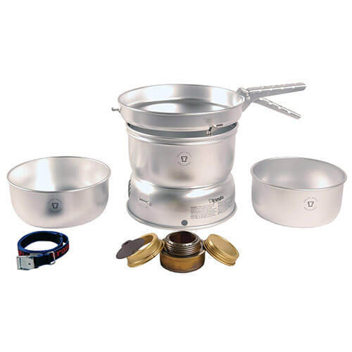 SET 1 Trangia 27 Series Ultralight Storm Cookers