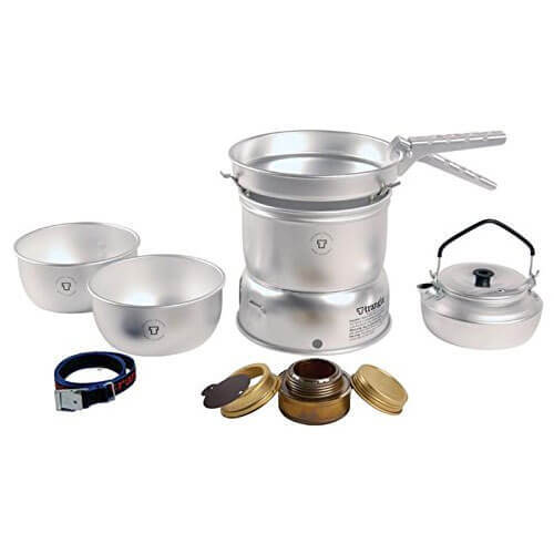 SET 2 Trangia 27 Series Ultralight Storm Cookers