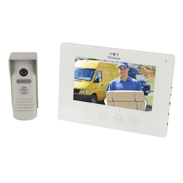 """7"""" LCD Wired Video Doorphone System"""