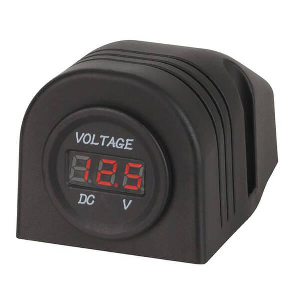 Panel/Surface Mount LED Voltmeter 5-30VDC