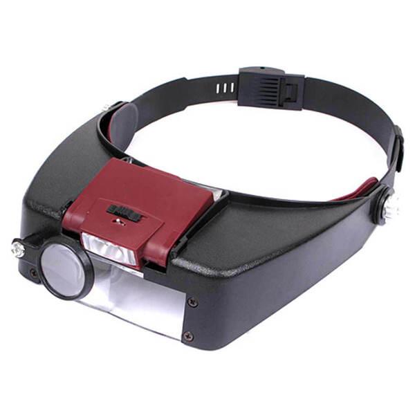 Tiltable LED Headband Magnifier