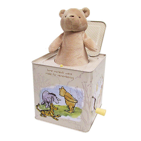 Winnie the Pooh Classic Jack In a Box