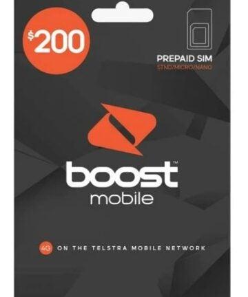 Boost Mobile $200 SIM Starter Kit