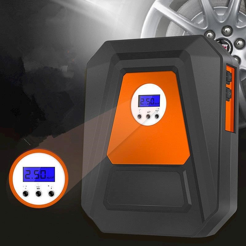 Digital Display Car Tire Inflatable Pump Portable Multifunctional Intelligent Preset Tire Pressure