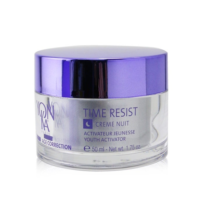 Yonka Age Correction Time Resist Creme Nuit With Plant-Based Stem Cells - Youth Activator - Anti-Fatigue Smoothing 50ml/1.75oz