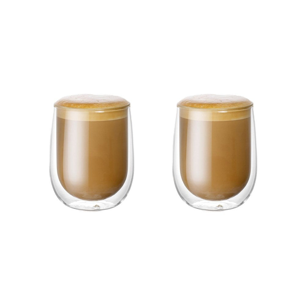 Baccarat Barista Cafe Double Wall Glass 250ml Set of 2