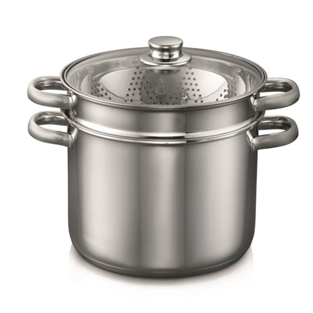 Baccarat Gourmet 24cm Stainless Steel 4 Piece Multi Cooker 7.6L