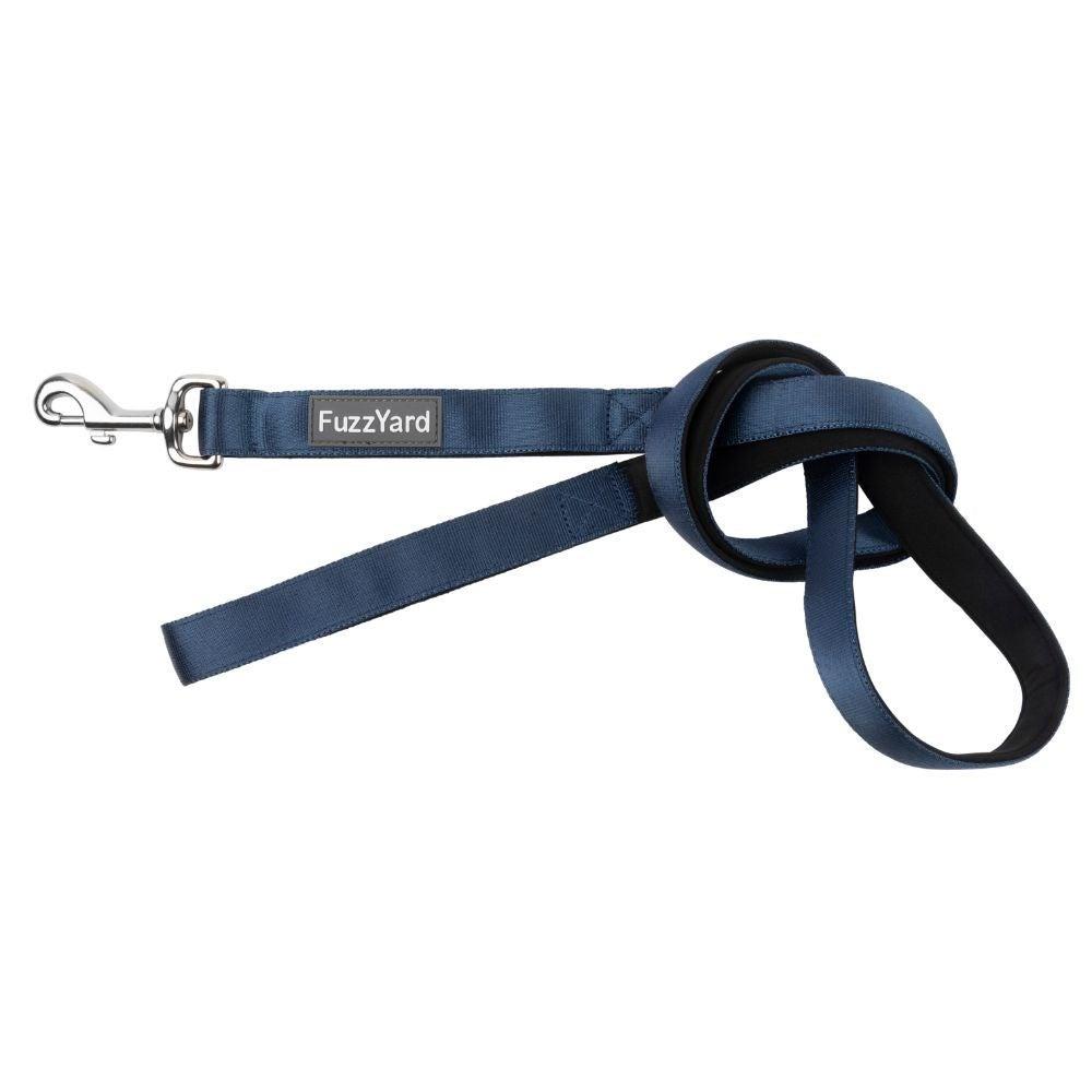 FuzzYard Dog Lead Marine Blue Small