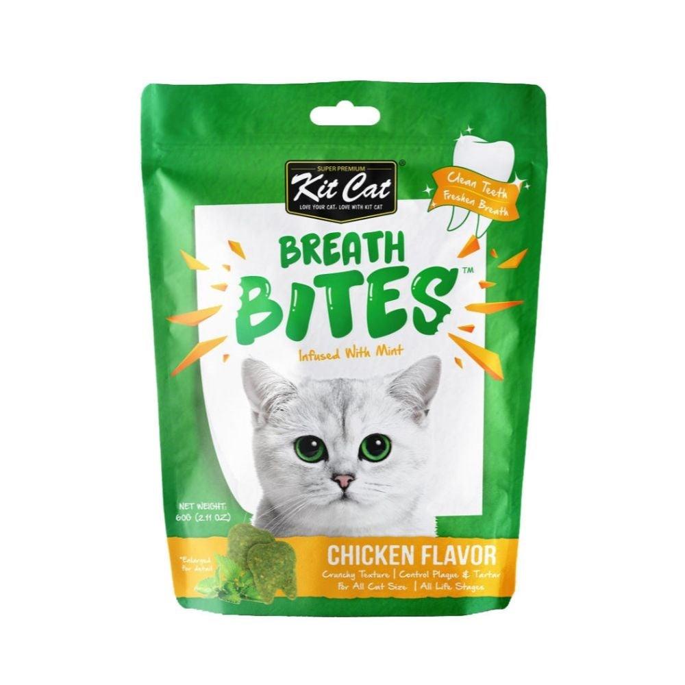 Kit Cat Breath Bites Chicken Cat Treat 50g