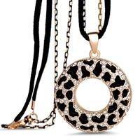Ariane Long Necklace Embellished with Swarovski crystals