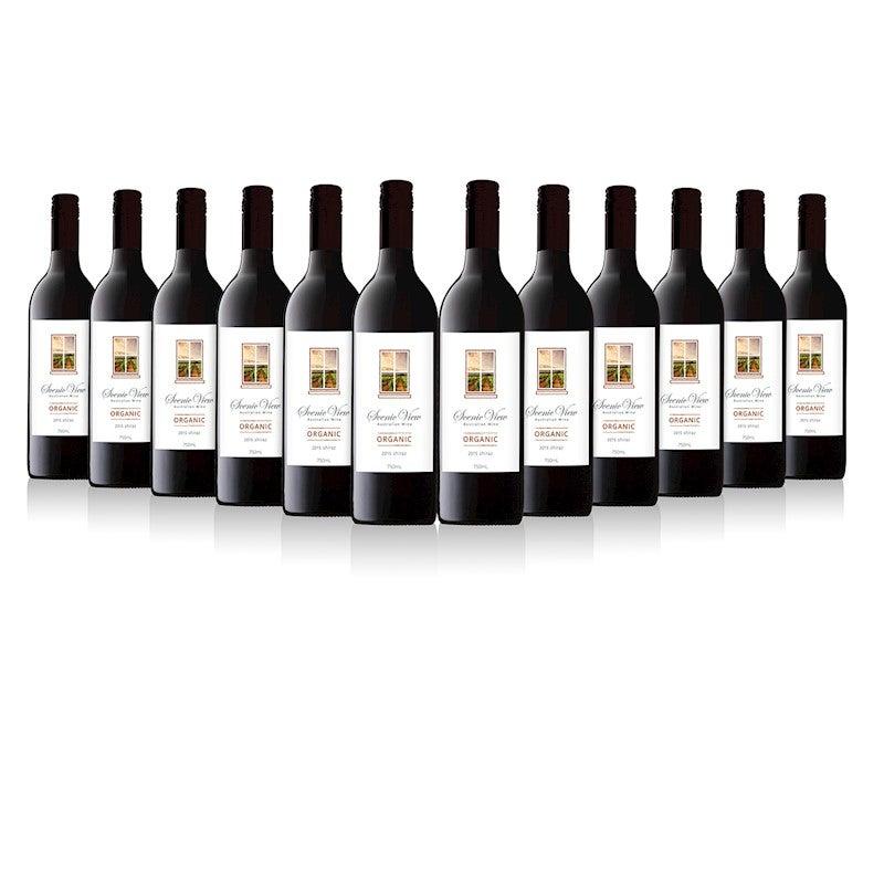 Scenic View Organic Wine Shiraz