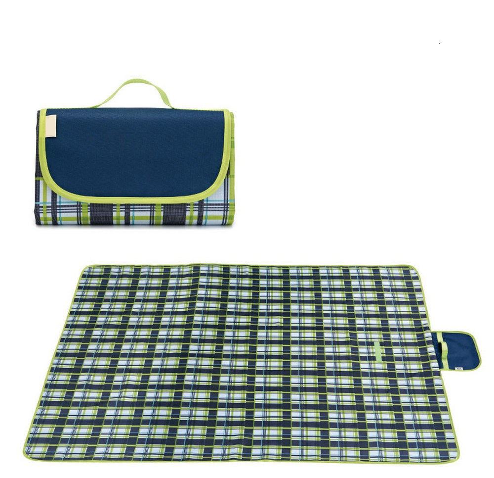 145*200cm Outdoor Waterproof Sandproof Foldable Portable Picnic Mat Picnic Blanket Fit up to 3-4 Adults