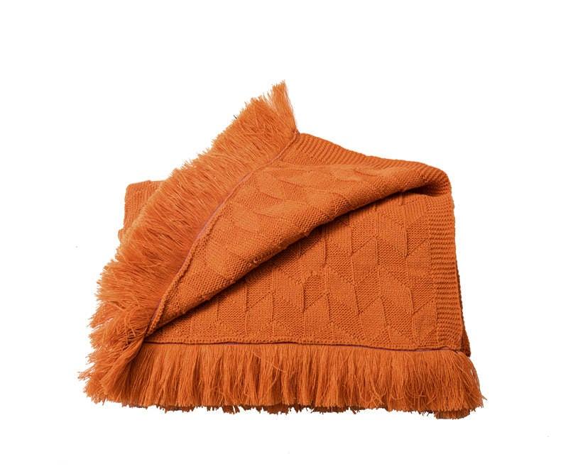 80x240cm Cozy Decorative Knit Woven Throw Blankets