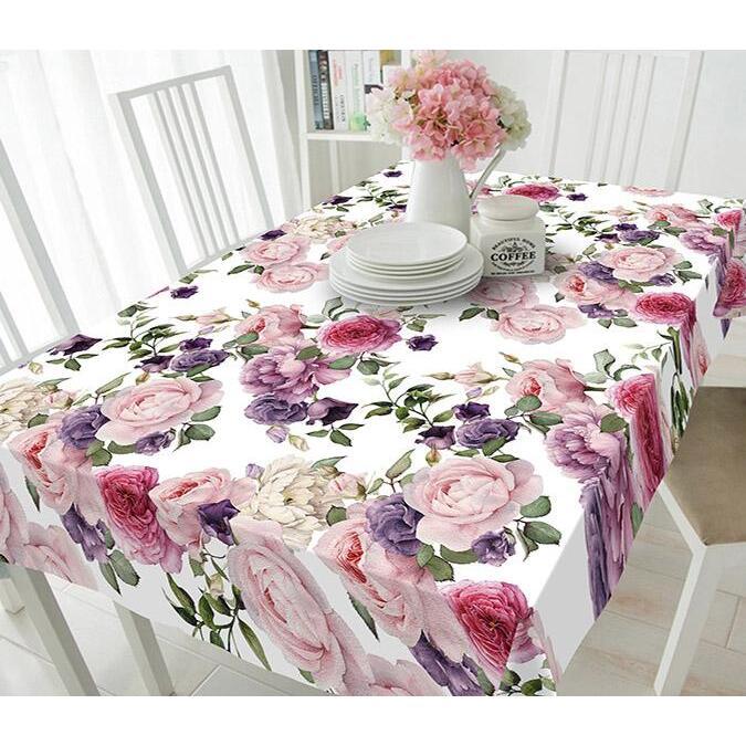 3D Camellia Flowers 177 Tablecloths