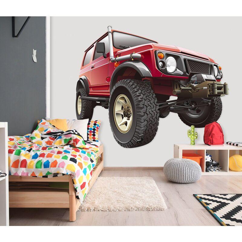 3D Carro Saindo Da Parede 0025 Vehicles