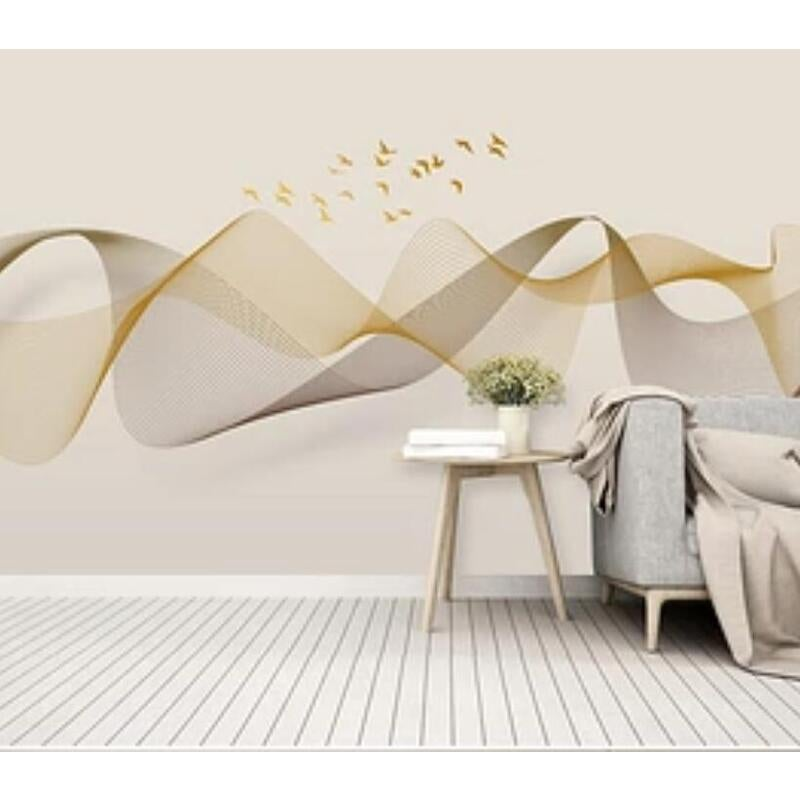 3D Color Wave 1527 Wall Murals