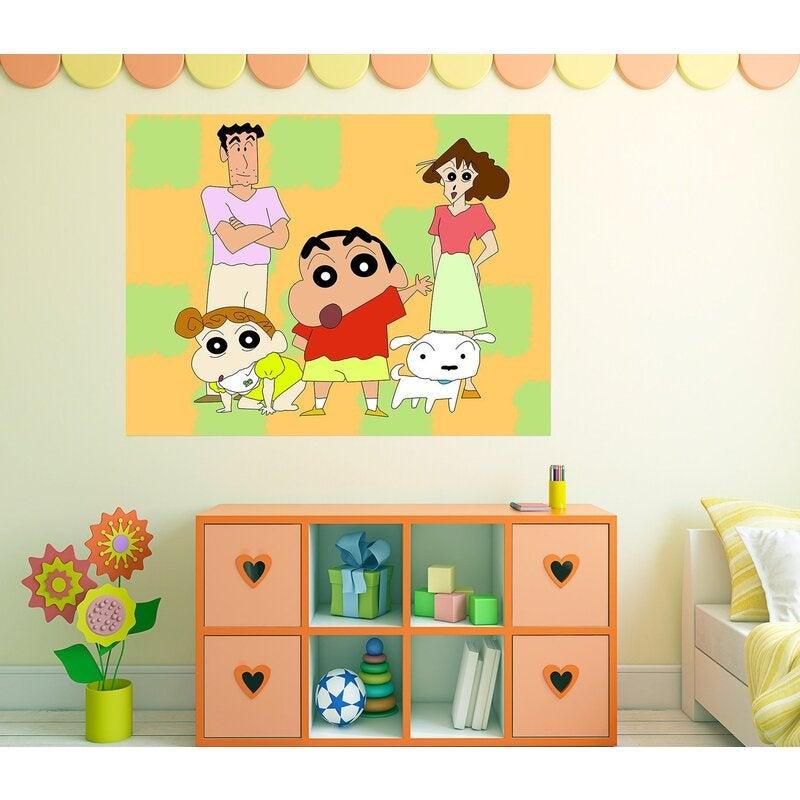 3D Crayon Shin Chan 009 Anime Wall Stickers