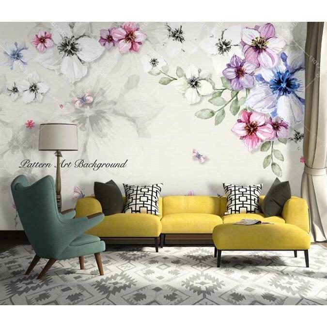 3D Flower 1330 Wall Murals