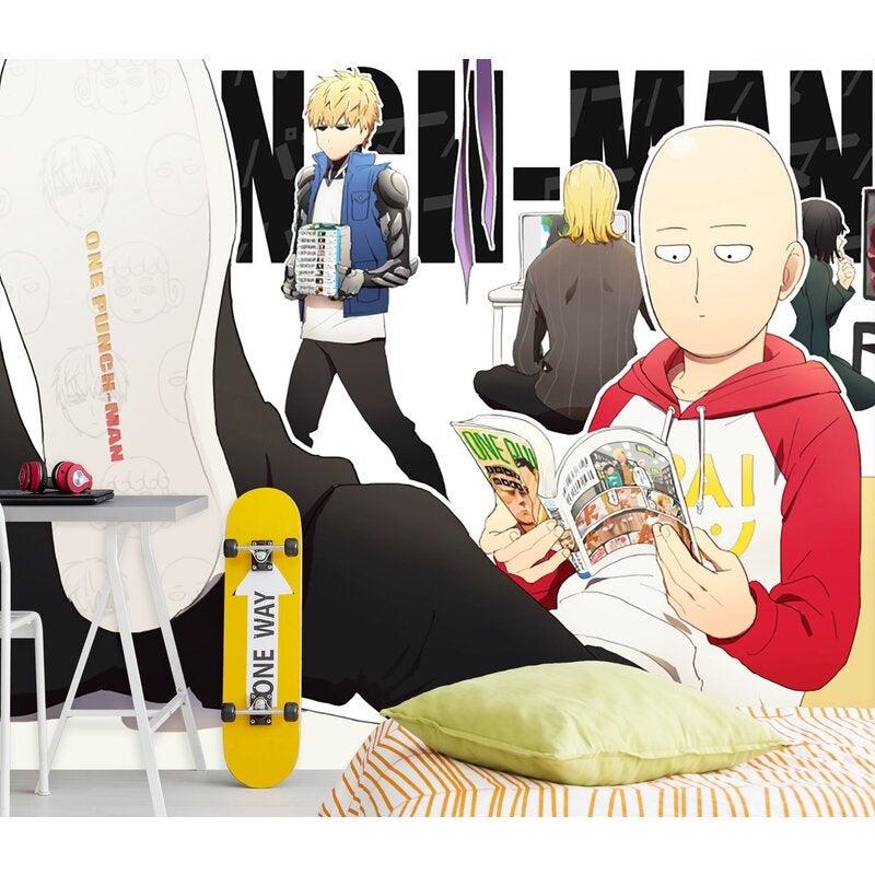 3D One Punch Man 018 Anime Wall Murals