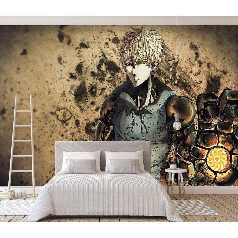 3D One Punch Man 020 Anime Wall Murals