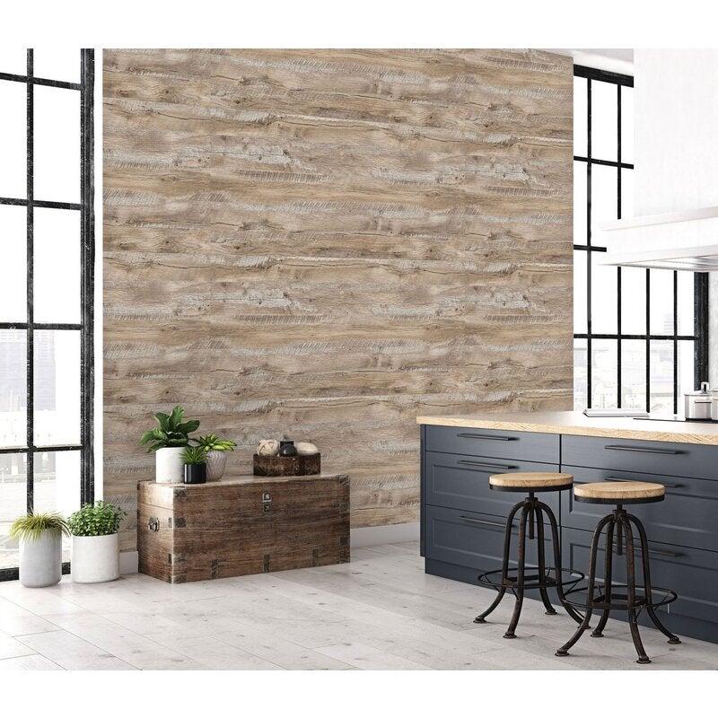 3D Texture Wooden Board 32 Wall Murals