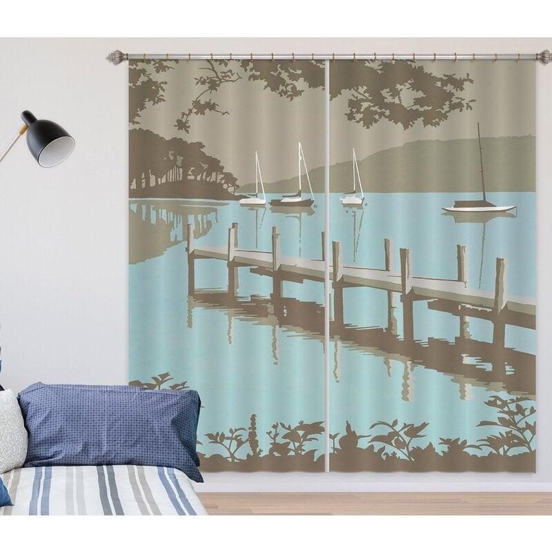 3D Windermere 168 Steve Read Curtain Curtains Drapes