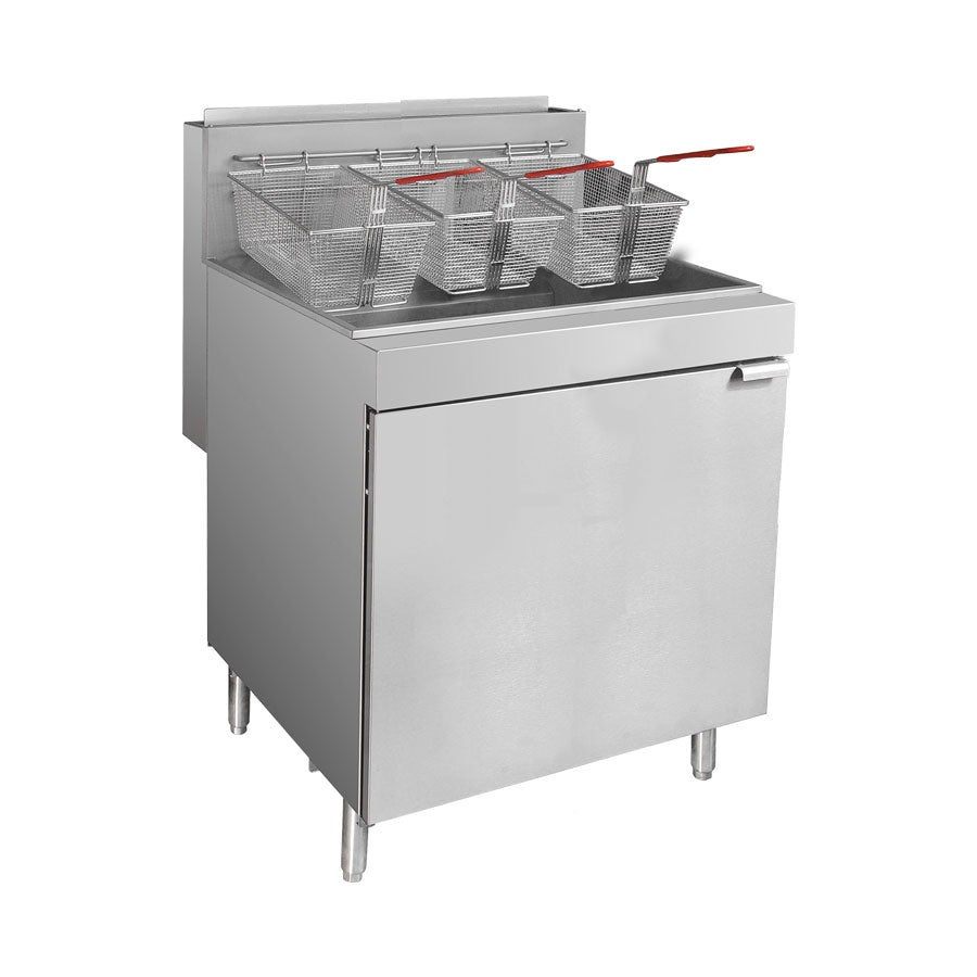 FryMAX - Superfast Natural Gas Tube Fryer RC500E Standing Deep Fryers
