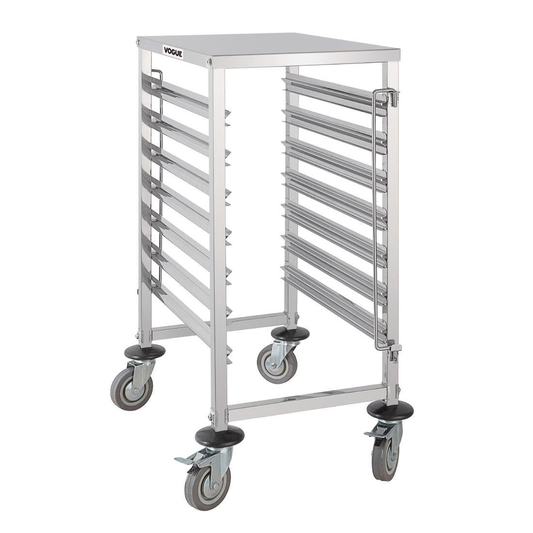 Vogue Gastronorm Racking Trolley 7 Level GG498 Racking Trolleys