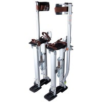 "Yescom Large Size 24-40"" Aluminum Drywall Tool Plastering Stilts Painter Builder Silver"