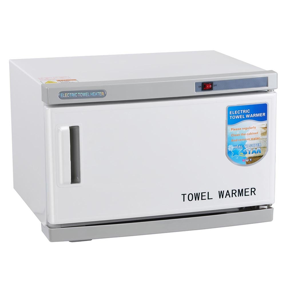 Yescom 16L Hot Towel Warmer Cabinet UV Sterilizer Spa Facial Salon Beauty Equipment