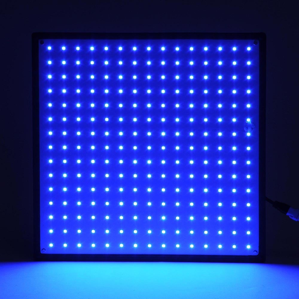 Yescom 225 Blue LEDs Grow Light 22W Panel Plant Lamp for Hydroponics Indoor Greenhouse