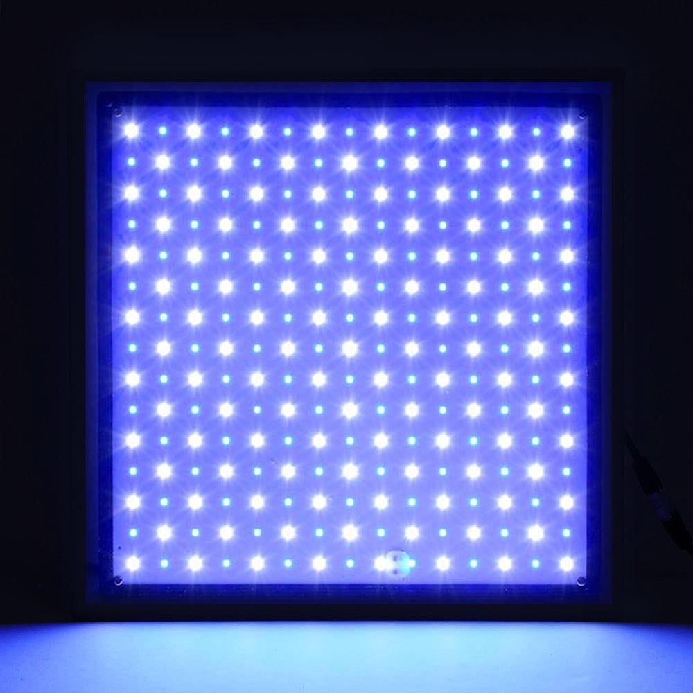 Yescom 225 Blue White LED Grow Light 22W Panel Plant Lamp Hydroponics Indoor Greenhouse