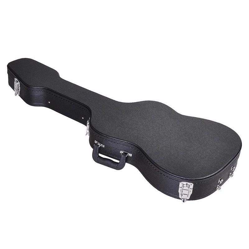 Yescom Electric Guitar Hard Case for Stratocaster & Telecaster Style Wooden Hard Shell