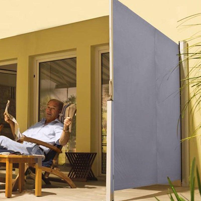 Excalibur Outdoor Living Retractable Privacy Side Screen & Sun Shade