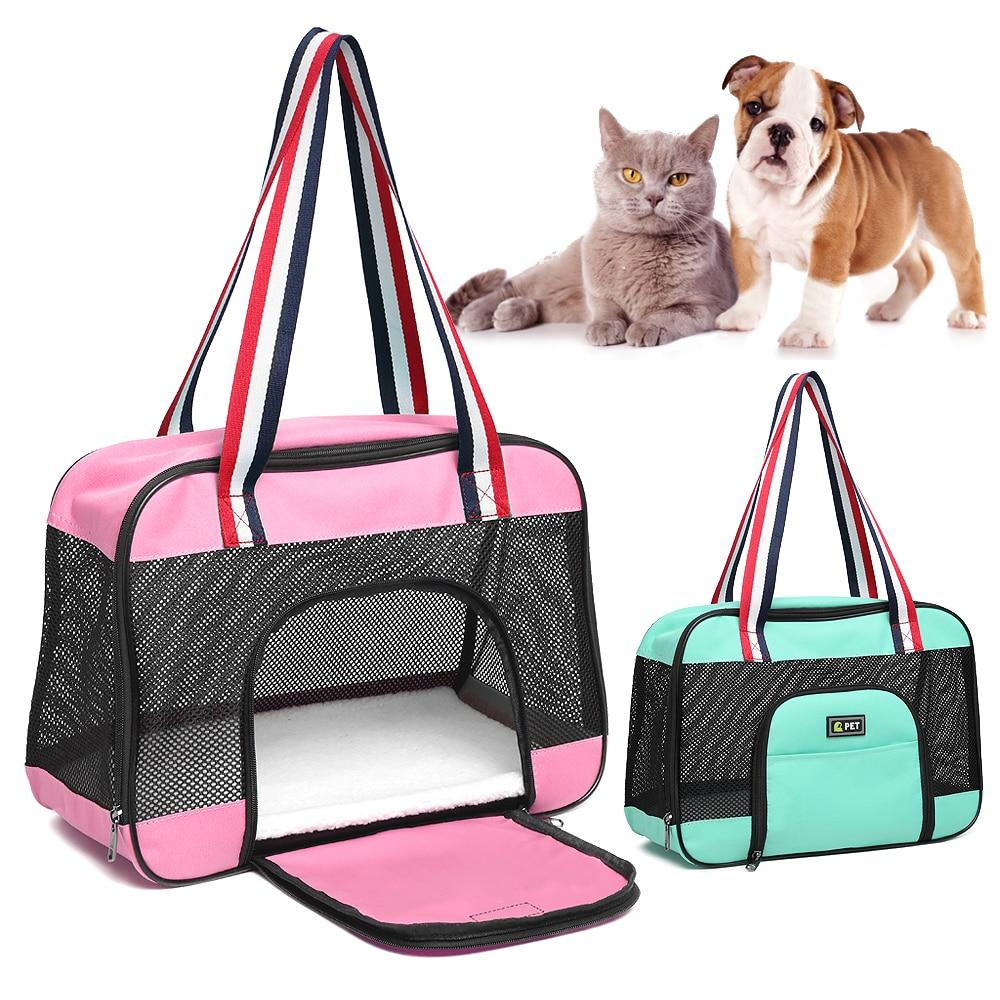 Durable Cat Bag Protable Pet Shoulder Bag Breathable Puppy Cat Carrier Bag Cats Box Small Dog Pet Travel Handbag For Chihuahua