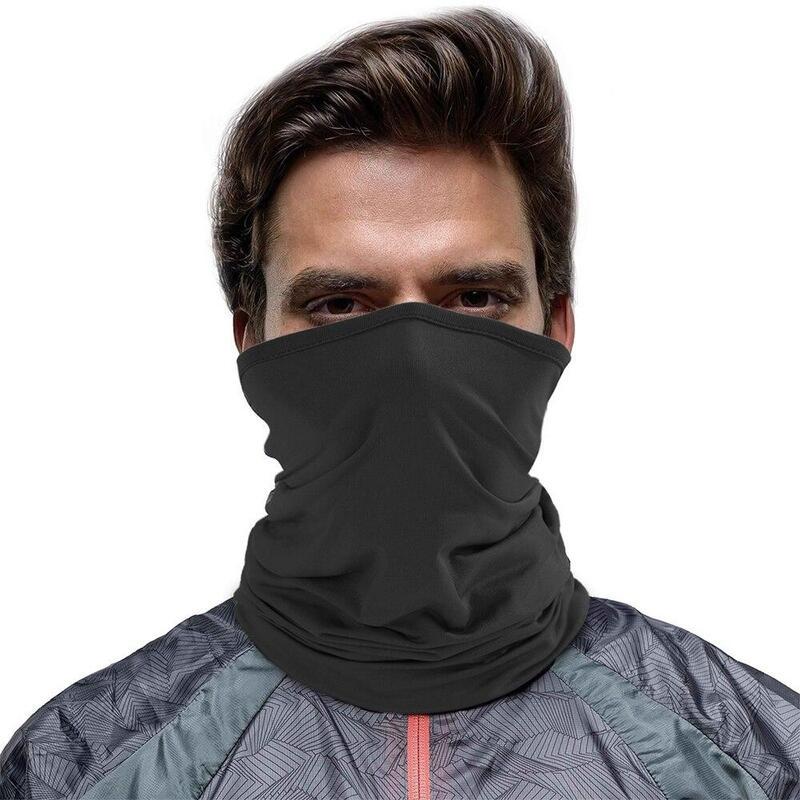 1 PAIR Face Mask Shield Tubular Bandana Riding Hiking Fishing 1 PAIR