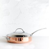 CHASSEUR COPPER COVERED SAUTE PAN - 28CM