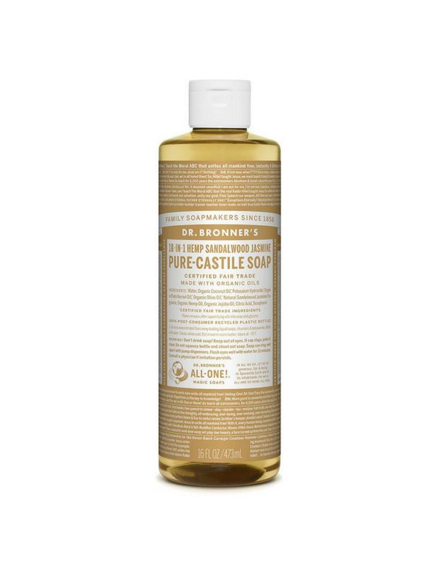 Dr. Bronner's Pure-Castile Liquid Soap - Sandalwood Jasmine 473ml