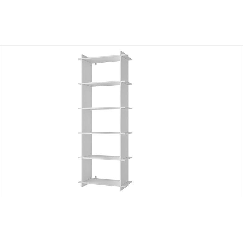 BRV Moveis Decorative Fitting Shelf in MDP 15mm, White 180 x 67.5 x 29.4cm