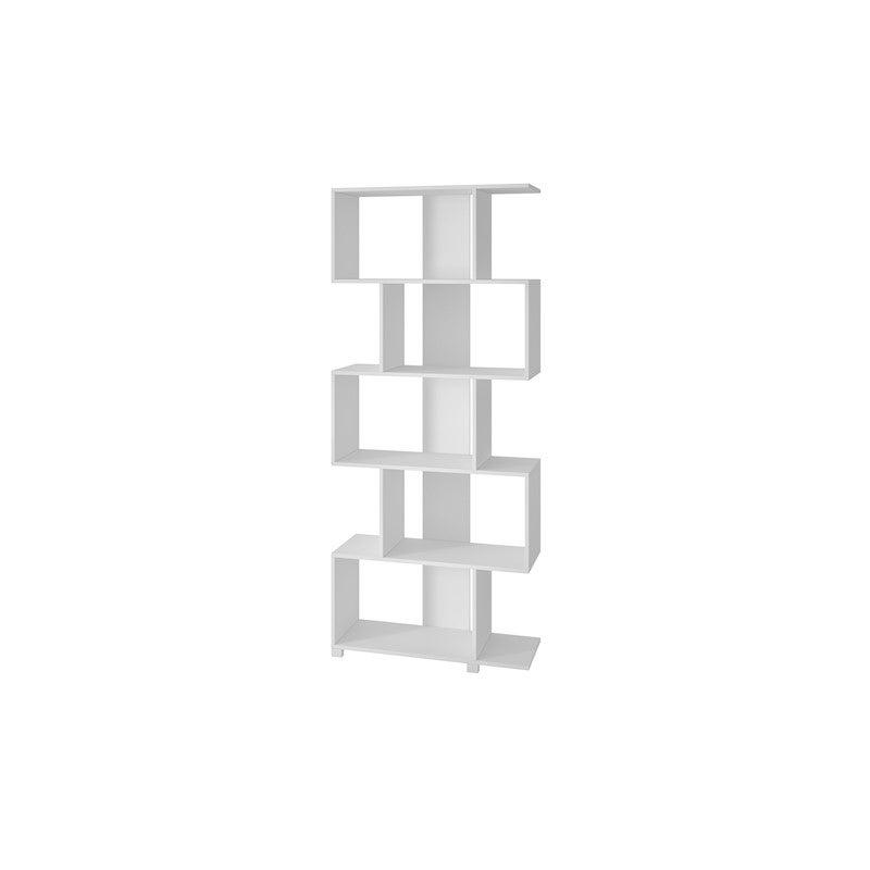 BRV Moveis Decorative Shelf in MDP 15mm, White 184 x 78.5 x 31cm