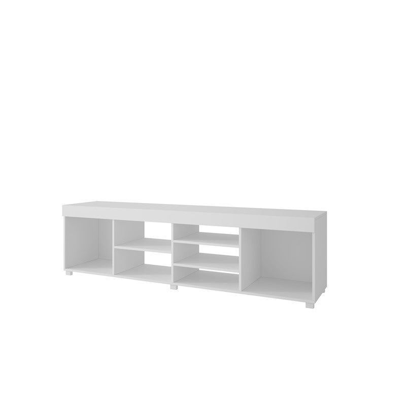 BRV Moveis TV Stand in MDP 15mm, Nut-Brown 50.8 x 180 x 39.5cm