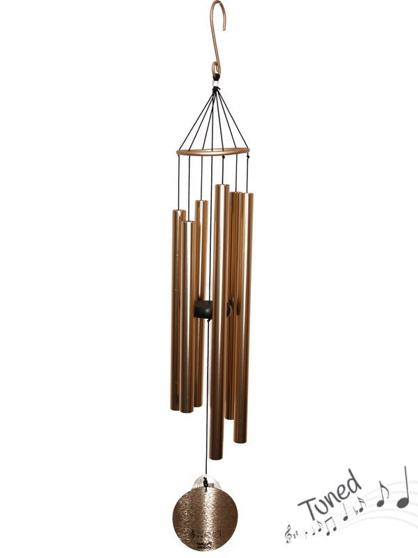 Natures Melody Tuned Wind Chime - Rose Gold Metal Tubes - Feng Shui - Home Decor - 100 cm - Christmas Gift Idea