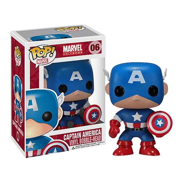 Captain America Pop! Vinyl Figure