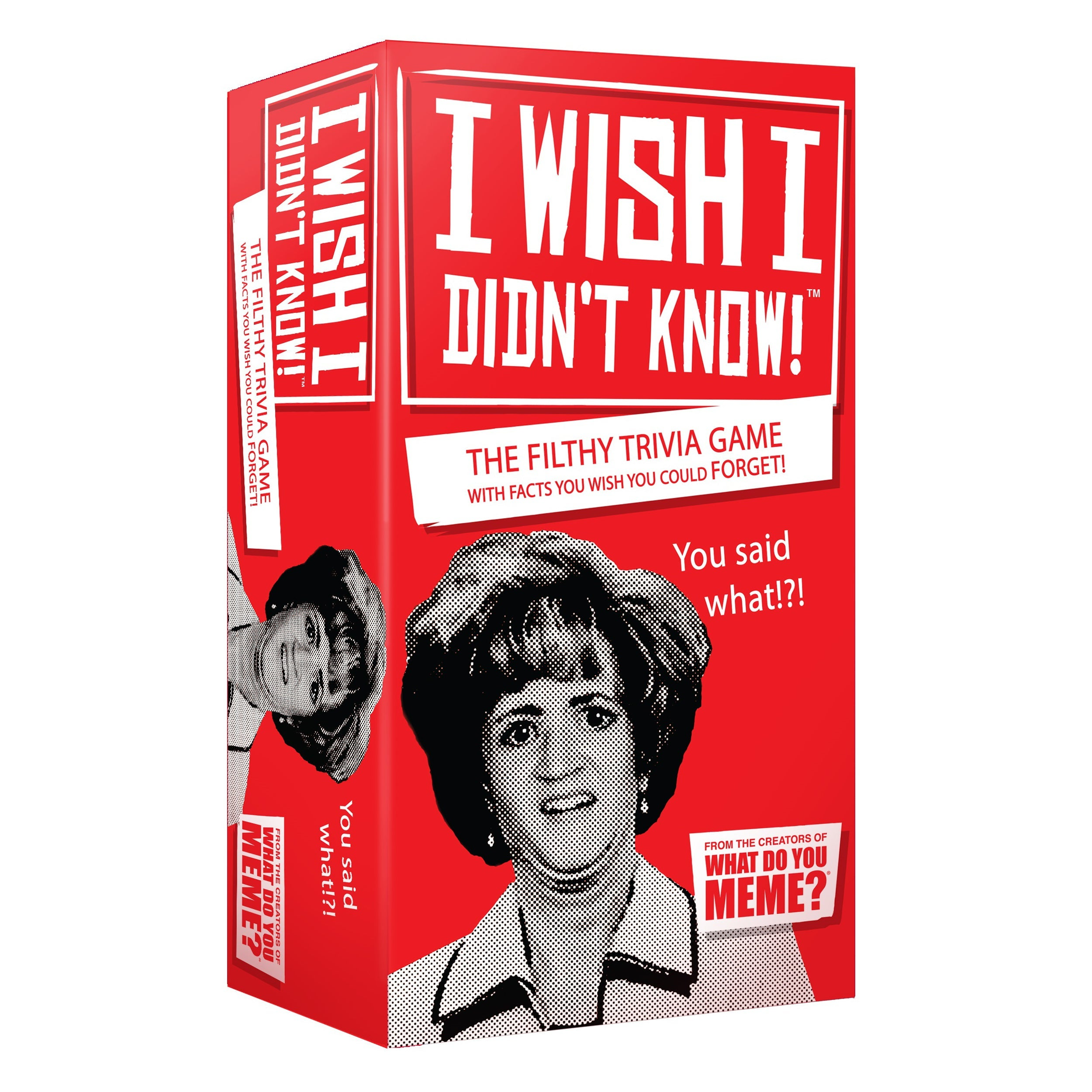I Wish I Didn't Know Party Game