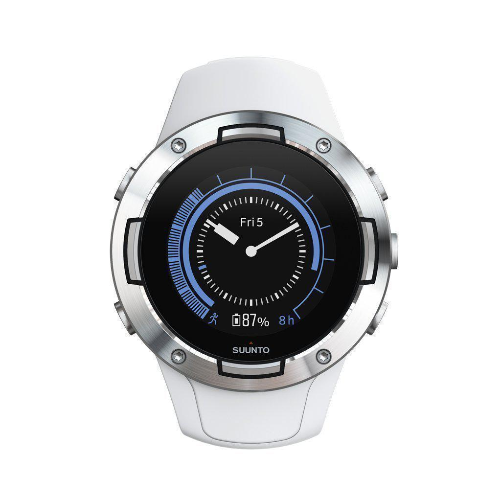 Suunto 5 GPS Sports Watch - White